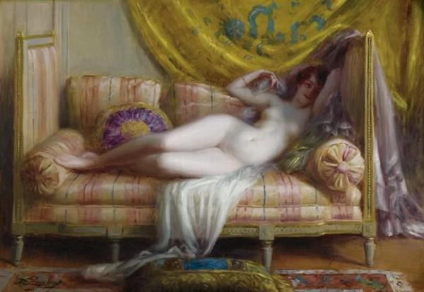 Delphin Enjolras (1857-1945)  – Odalisque