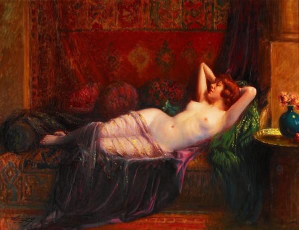 Delphin Enjolras (1857-1945)  -  La grande odalisque