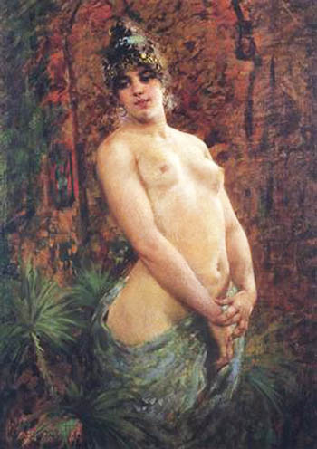 Egisto Lancerotto (1847-1916) – Le Odalische di Egisto Lancerotto