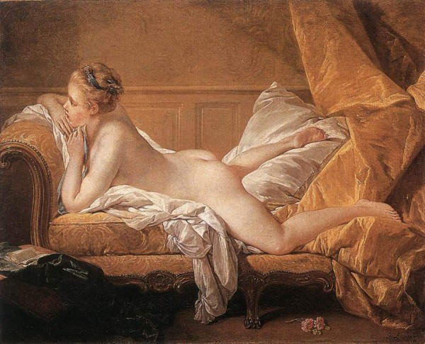 Francois Boucher (1703-1770 )  –   Blond   Odalisque