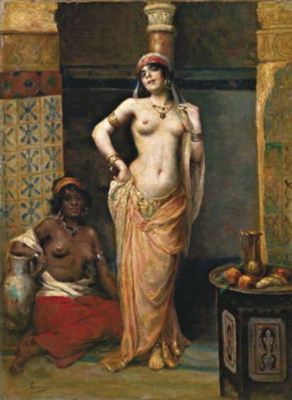 Henri Adrien Tanoux (1865-1923)  -  Beautes du Harem