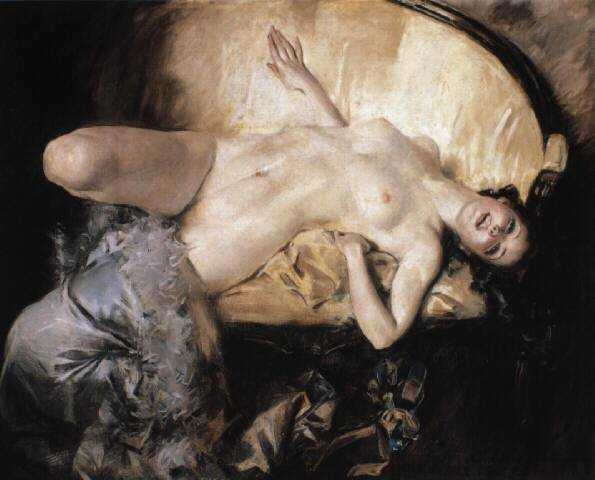 Howard Chandler Christy (1873 - 1952)   -   Odalisque