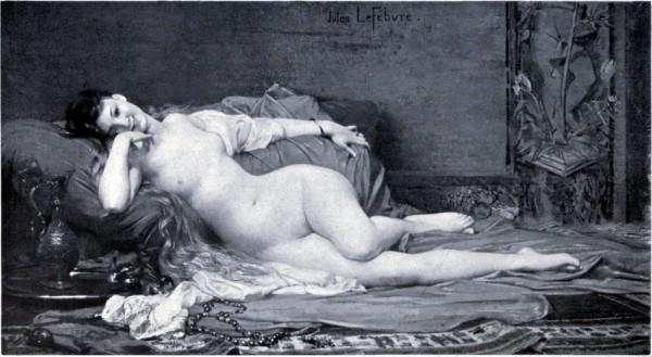 Jules Joseph Lefebvre (1836 - 1911)   -   Djemile