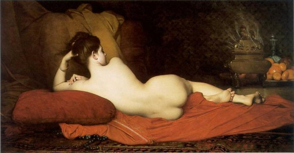 Jules Joseph Lefebvre (1836 - 1911)   -   Odalisque