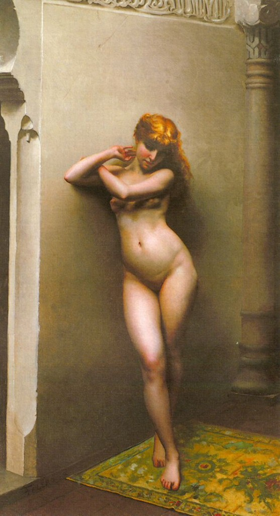 Luis Ricardo Falero (1851 - 1896)  -  L'Odalisca Favorita