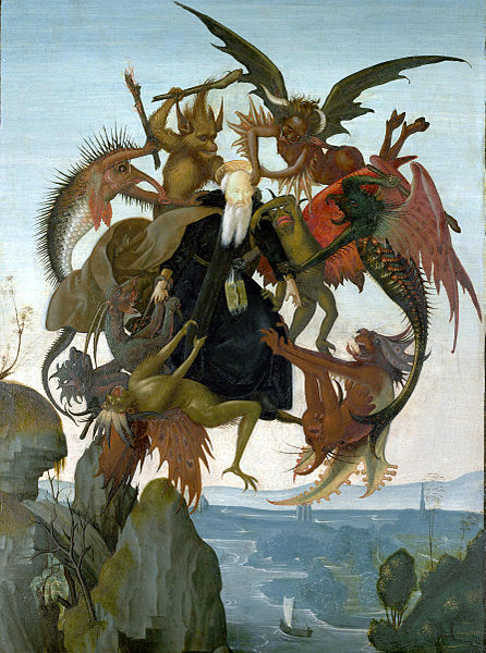 Michelangelo-ispitirea-Sfantului-Anton