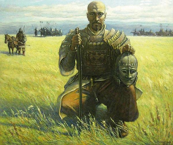 Pictură de: Rotmistrov Vladimir Ivanovich