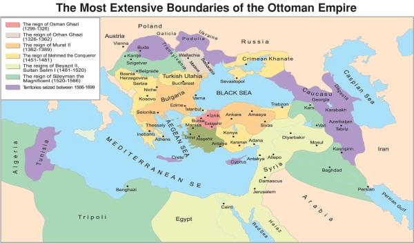 The-Ottoman-Empire-1299-1699