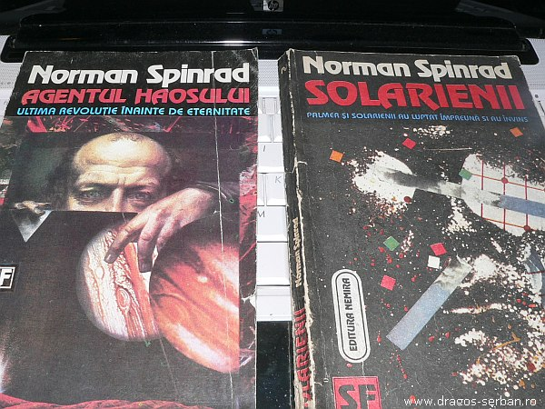 agentul haosului si solarienii, scrie de Norman Spinrad