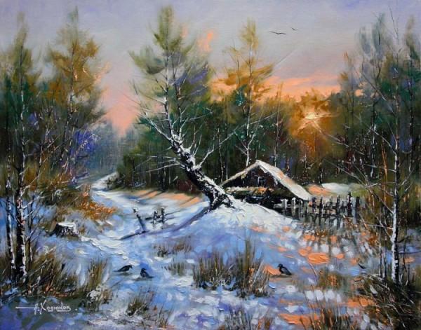 alexander-hodukov-peisaj-iarna