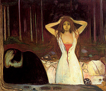 cenusa edvard munch ashes aske