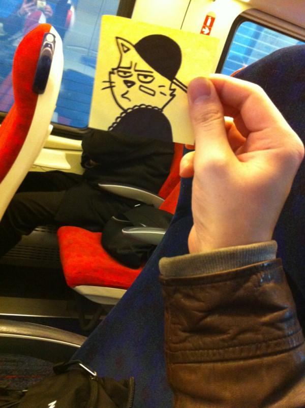 doodle-train