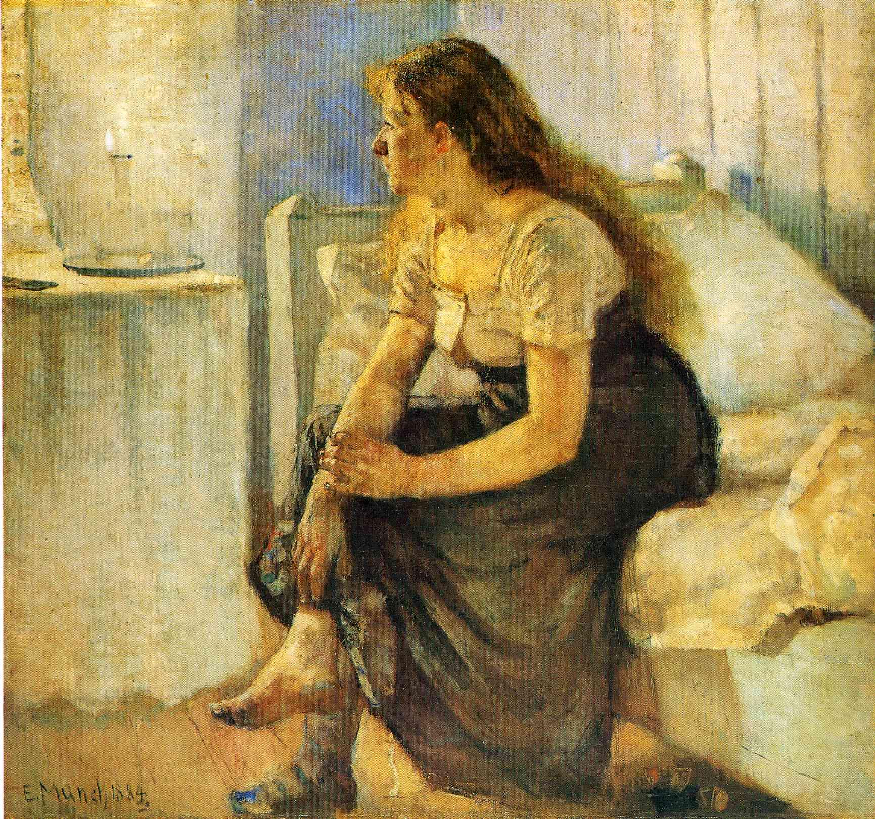 edvard-munch-morning-1884
