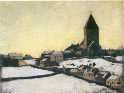 edvard-munch-old-aker-church-1881