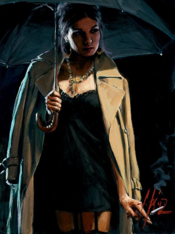 fabian-perez-femeie-umbrela