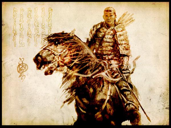 mongol-calare