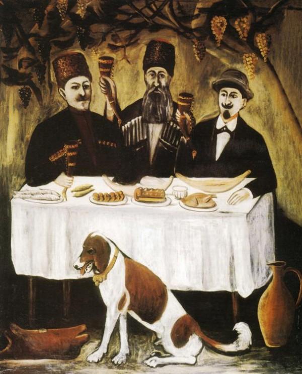 niko-pirosmani-masa-celor-trei-nobili