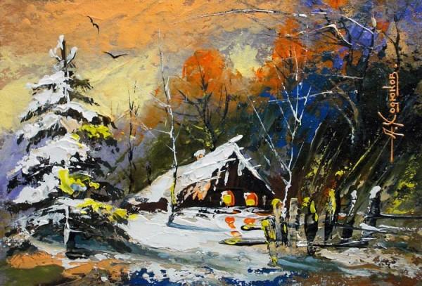 peisaj-de-iarna-alexander-hodukov